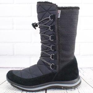 LL Bean Tek 2.5 Black Winter Waterproof Boots 8